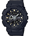 G-Shock Baby-G BA110GA-1A Gold Accent Black Watch