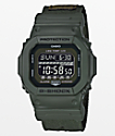 G-Shock G-Lide GLS-5600CL-3 Cloth Olive Digital Watch