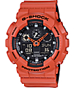 G-Shock GA100L-4A Military Coral Layered Watch