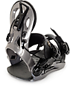GNU Gateway Grey Snowboard Bindings