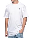 Girl Micro OG Standard Embroidered White T-Shirt