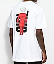 Girl x Diamond Supply Co. White T-Shirt