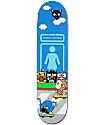 """Girl x hello sanrio MikeMo 7.87"""" Skateboard Deck"""