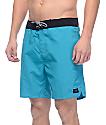 """Globe Dana 18"""" Turquoise Board Shorts"""