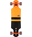"Globe Geminon Orange 35""  Drop Through Longboard Complete"