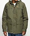 Globe Goodstock Thermal Olive Green Parka Jacket
