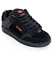 Globe Tilt Black and Red Skate Shoes