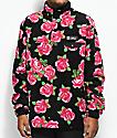 Gnarly Vagabond Rose Fleece Crew Neck Sweatshirt
