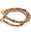 Goodwood NYC Milky Way 2 Pack Brown Bracelets