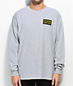 Gosha x Mumiy Troll Heather Grey Long Sleeve T-Shirt