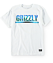 Grizzly Boys Swamp Stamp Cubs White T-Shirt