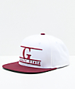 Grizzly GSU White Snapback Hat