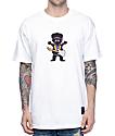 Grizzly X Hendrix Jimi Bear White T-Shirt