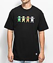 Grizzly x Grateful Dead Big Happy Family Black T-Shirt