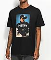HSTRY Portrait Black T-Shirt