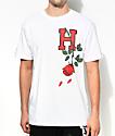 HSTRY Roses White T-Shirt