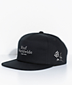 HUF Ambush Roses Black Snapback Hat