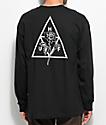 HUF Ambush Triple Triangle Black Long Sleeve T-Shirt