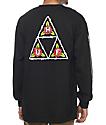 HUF Barb Black Long Sleeve T-Shirt