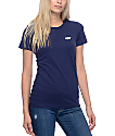HUF Charms Embroidery Navy T-Shirt