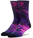 HUF Digital Plantlife Purple Reign Crew Socks