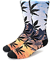 HUF Flavor Country Plantlife Crew Socks