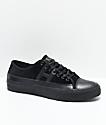 HUF Hupper 2 Lo Black Velvet Skate Shoes