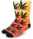 HUF Maui Waui Plantlife Crew Socks