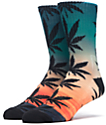 HUF Outdoors Digi Plantlife Sunrise Crew Socks