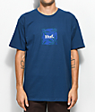 HUF Plant Life Woven Label Blue T-Shirt