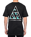 HUF Premiere Triple Triangle Black T-Shirt