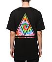 HUF Tie Dye Triangle Fill T-Shirt