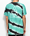 HUF Tiger Dye Teal & Charcoal T-Shirt