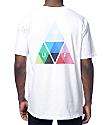 HUF Triangle Prism White T-Shirt
