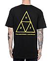 HUF Triple Triangle Black T-Shirt