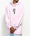 HUF Type Pink Hoodie