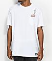 HUF x South Park Dead Kenny White Pocket T-Shirt