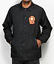 HUF x South Park Kenny Black Coaches Jacket
