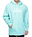 HUF x Thrasher TDS Mint Pullover Hoodie