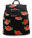 Hellz Bellz Roses Are Red Mini Backpack
