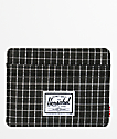 Herschel Supply Co. Charlie Black Grid Cardholder