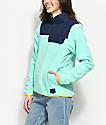 Herschel Supply Co. Guide Lucite Green Pullover Fleece