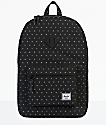 Herschel Supply Co. Heritage Black Gridlock 21.5L Backpack