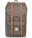 Herschel Supply Co. Little America Canteen Crosshatch Backpack