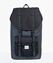 Herschel Supply Co. Little America Dark Shadow & Black 25L Backpack