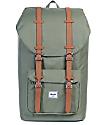 Herschel Supply Co. Little America Deep Lichen Green 25L Backpack