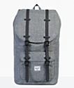 Herschel Supply Co. Little America Raven Crosshatch 25L Backpack