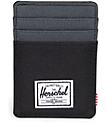 Herschel Supply Co. Raven Black & Dark Shadow Cardholder Moneyclip Wallet