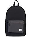 Herschel Supply Co. Settlement Black & Charcoal 23L Backpack