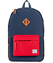 Herschel Supply Heritage Red & Woodland Camo 21.5L Backpack